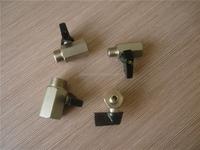 brass nickel plating NPT female/male mini ball valve , size 1/8'' 1/4'' 3/8'' 1/2''