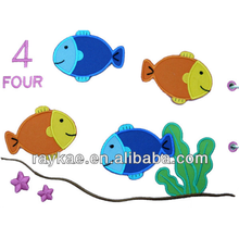 clothes and accessories for babies fish animal applique embroidery design