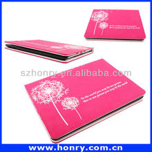 Wholesale high quality Leather Tablet Stand Case for iPad 2 3 4