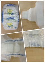 velcro tape/cotton back sheet/elastic waist baby diapers! Alibaba china