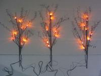 festival christmas led tree light branch light