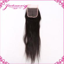 Silk base closure,virgin hair bundles with lace closure, closure