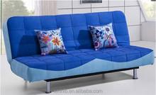 FSB049-1 cheap fabric sofa cum bed modern folding sofa bed fittings