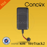 Simple Intelligent Multi GEO Fence Mini GPS Tracker Device for vehicle motorcycle for Concox Wetrack2