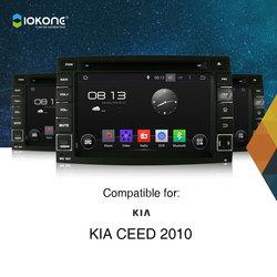 Iokone 2 Din Android Car Radio With GPS 3G WIFI Ipod For Kia Ceed 2010