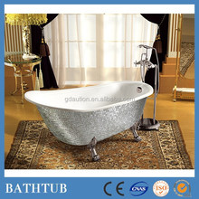 New style silver acrylic bathtub dimensions freestanding tubs
