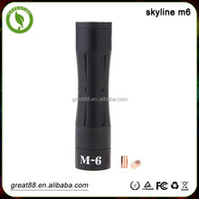 New 18650 Mechanical mod skyline m6 & m1 m2 m3 m4 m5 skyline m6 mod clone