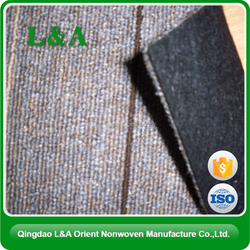 Chinese Competitive Price Stitchbond Needled Felt Fabric Carpet Backing