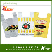 Hot sale shopping plastic bag/printed T-Shirt shopping Bag