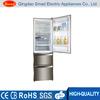 Three door big capacity bottom freezer top fridge refrigeartor price