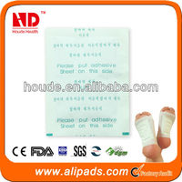 Factory hot sale, Detox foot patch, popular all over the world