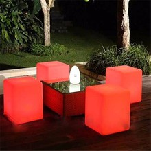Romantic Plastic RGB 3d Party Tables and Chairs for Sale
