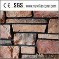 revestimento exterior da parede de pedra