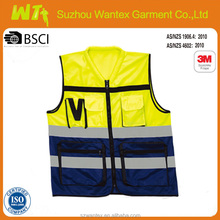 BULK reflective newest high vis safety safety vest/protective clothing Used clothing/Wholesale vests
