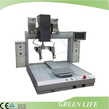 Point and line soldering usage high precision multi-heaad soldering robot
