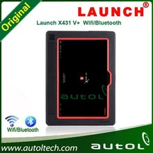 2015 X-431 Pro3(X431V)Launch X431 V+ master with Wifi or Bluetooth launch x431V+ pad car computer master -- Vivian