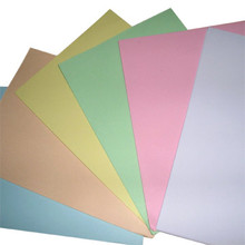 Colours woodfree paper