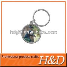 epoxy beautiful peacock keychain for sale