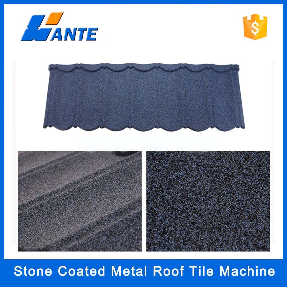 High Quality Aluminum Zinc Plate Colorful Stone Coated