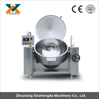 Newly High efficiency steam/electrical jacket kettle with mixer