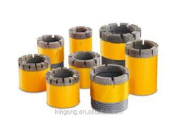 Wireline diamond core drill bit