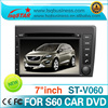 Car DVD Player For Volvo S60 with GPS/DVD/RADIO/BT car auto navigation