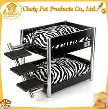 Metropolitan Style Metal Frame Dog Bed Solid Wood Pet Furniture For Sale