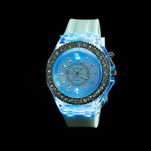 Newest Intercrew sports LED silicone Watch--Happy New Concept Of Watches/led watch