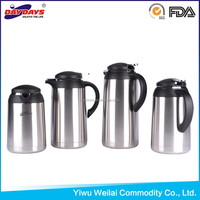New design fashion low price Double Wall S/S Vacuum Coffee Pot Tea Thermos