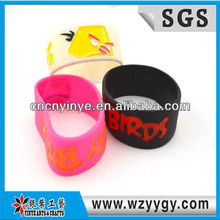 Distinctive Children Silicone Bracelet For Advertising