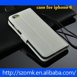 2015 Best Quality China Alibaba Genuine leather Case For Iphone 6 Wholesale