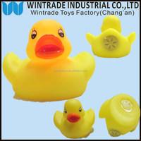 Bath time OEM ducks bath toy LED & sound