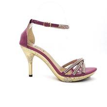 2015 fashionable bronze high heel shoes