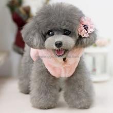 Blank pink pet coat, pet apparel for winter, pet snow clothes