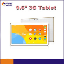 "2015 New 9.6"" IPS MTK6582 Quad core Android 4.4 tablet pc built in 3g"