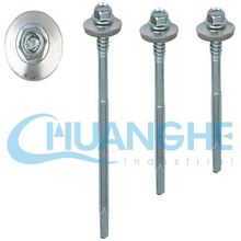 made in china furniture cam lock fasteners with countersunk self drilling screw with wings