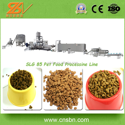 Stainless Steel Low Electric Cost Pet Food Processing Line /Pet Food Extruder Machine
