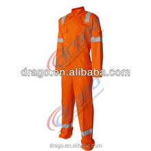 Aramid garment for pilot