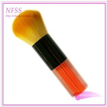 Factory sale face beauty private label professional cosmetic brush colored nylon brush acrylic kabuki brush makeup brush