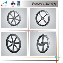 Wholesale industry ductile cast iron handwheel