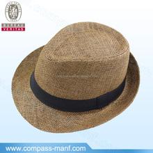 fashion style paper straw children panama hat
