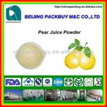 High quality and lowest price 100% natrual Pear Juice Concentrate Powder