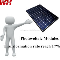 Chinese Low Cost Polycrystalline Silicon Solar Panels 60W
