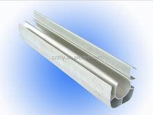 Anodisé aluminium profilé avec alliage 6063T5 ou T6 de SHENZHEN fabricant