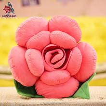 Custom Sweety Decorative Plush Stuffed Rose Pillow Cushion