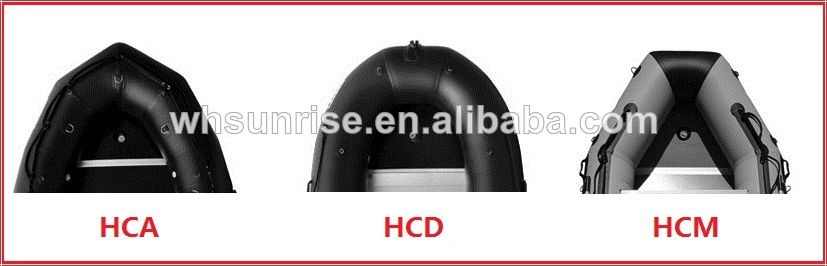 1.2mm PVC Heavy Duty 500 Inflatable Boat