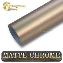 New Style Matte Metallic Chrome Sticker For Changing Cars Body Color