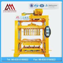 hollow QTJ4-40 machine cement brick making machine price, concrete machine block to make money