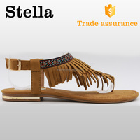 handmade flat heel slip on high quality indian sandals