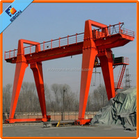 30 ton MG Model Electric Hoist Double Girder Gantry Crane with Moderate Price